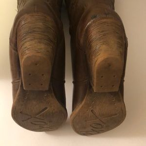 XOXO Shoes - XOXO Indy Brown Embellished Cowboy Boots